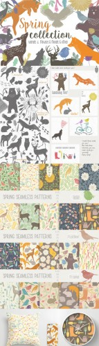 Spring collection - Creativemarket 200604