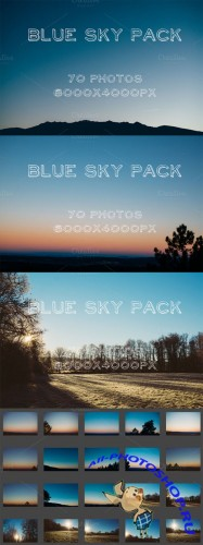 Creativemarket Blue Sky Pack 141002
