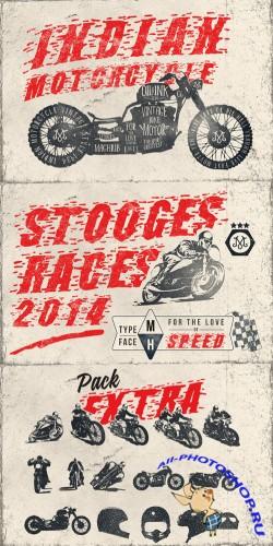 Creativemarket Stooges Races 63147