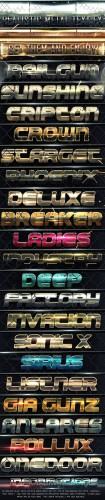 Realistic Metal Text FX  - Graphicriver 3172637