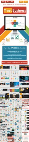 Trust Business PowerPoint Presentation Template - Graphicriver 11146006