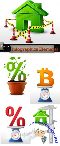 Infographics Elements in Vector # 12