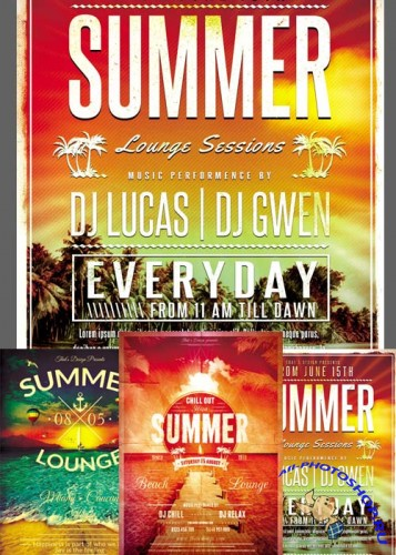 Summer Flyer Templates part 1