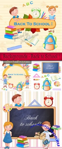 Backgrounds - Back to School !