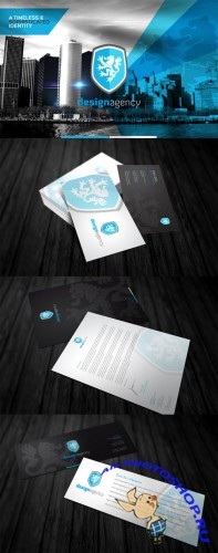 Creativemarket - RW Heraldic Agency Corporate ID 1841