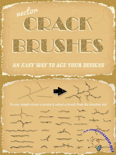 Creativemarket - Vector Crack Brushes 101089