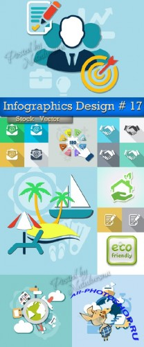 Infographics Elements Design in Vector # 17