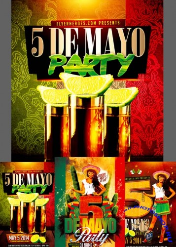 Mexican Party Flyer part 1