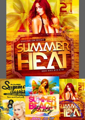 Summer Flyer Templates part 6