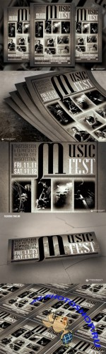 Creativemarket 104824 - Music Festival Flyer Template V2
