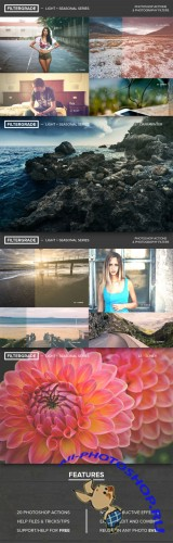 FilterGrade Light + Seasonal Series - Creativemarket 19693