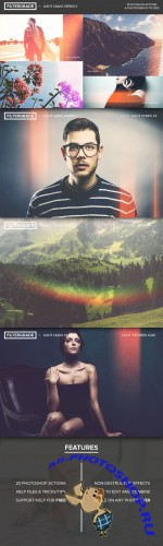 FilterGrade Light Leaks Series II - Creativemarket 19388