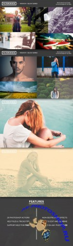 FilterGrade Fashion + Blush Series - Creativemarket 19746