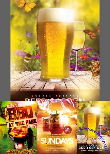 Summer Flyer Templates part 7