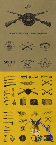 The Armory Pack - Creativemarket 60379