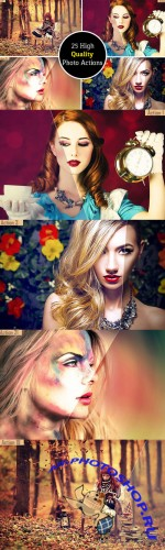 25 High Quality Photo Actions - Creativemarket 257705