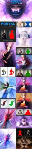 Portal Photoshop Action - Graphicriver and Creativemarket