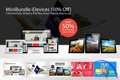 Mini Bundle iDevices - Creativemarket 19162