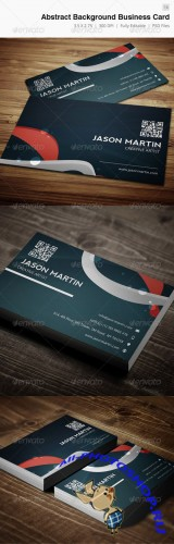 Abstract Background Creative Business Card - 16 - Graphicriver 3929798