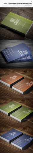 Creative Business Card - 08 - Graphicriver 3792145
