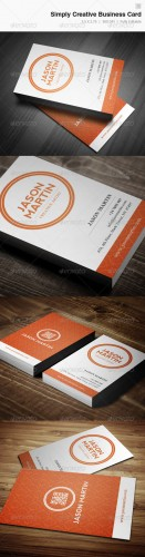 Simply Creative Business Card - 12 - Graphicriver 3907355