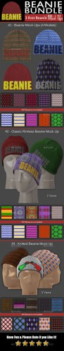 Complete Headwear Bundle - Graphicriver 11025914
