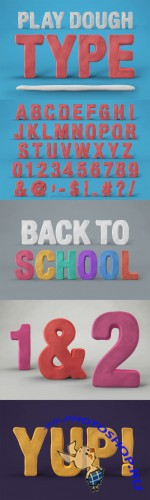 Creativemarket - Play Dough Type 129890