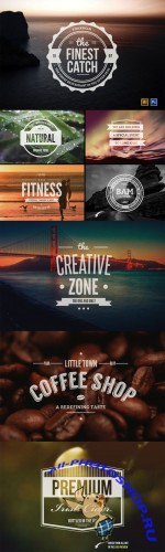 Vintage Logo/Insignia Collection 4 - Creativemarket 8366