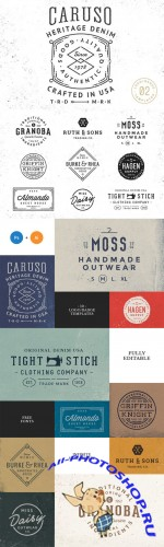 10 Logo/Badge Templates Vol.2 - Creativemarket 115360