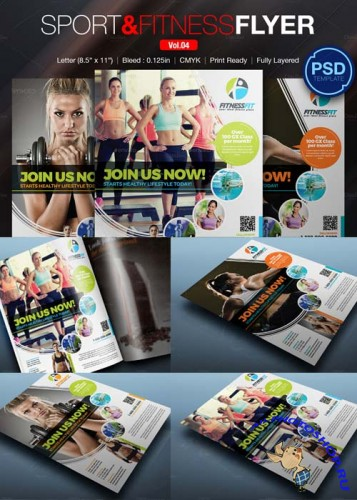 Sport Fitness Flyer Vol.04