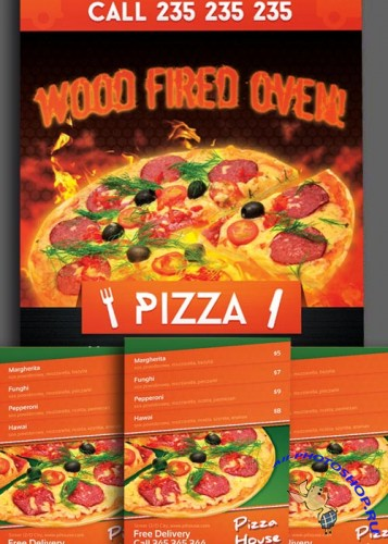 Pizzeria Flyers Bundle part 1