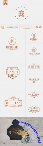 Monogram Pack 0.4 - Creativemarket 153637