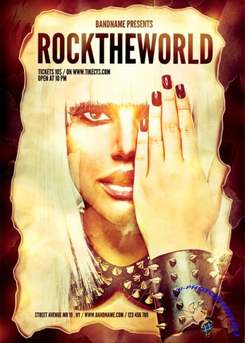 Rock The World Flyer part 1
