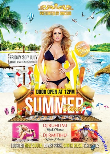 Summer Flyer Templates part 10