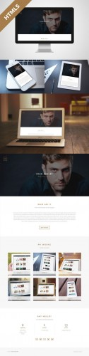 Shelby v1.1 - One Page HTML5 Template - Creativemarket 70522