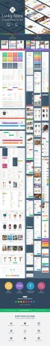 Creativemarket - Lucky Store UI Kit 30012