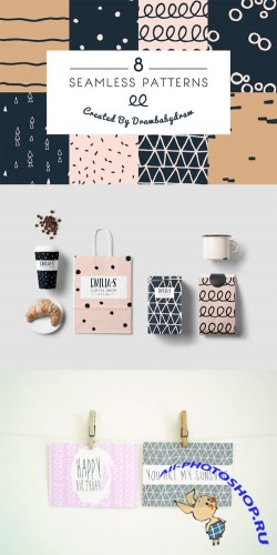 Creativemarket - Illustrated Pattern Collection 89538