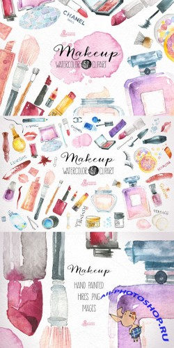 Makeup & Cosmetics clipart - Creativemarket 244870