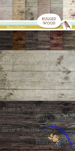 Creativemarket - Rugged Wood Textures 16499