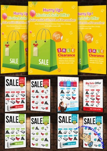 Big Sale Offer Flyer Bundle part 2
