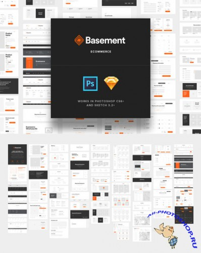 Creativemarket - Basement Ecommerce 217272