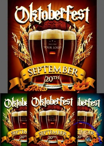 Oktoberfest Flyer Bundle V1