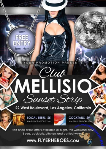 Mellisio Flyer Template