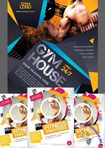 Fitness Flyers Bundle part 4