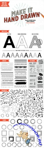 Make It Hand Drawn - Vector Kit - Creativemarket 160834