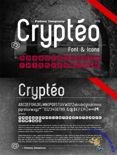 Crypteo Modern Font