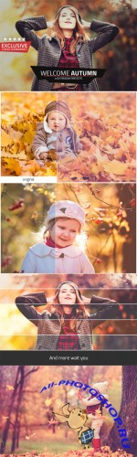 Creativemarket - Welcome Autumn Lightroom Presets 377333