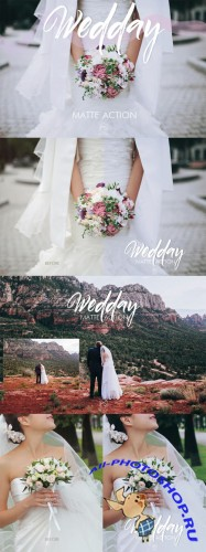 Creativemarket - Wedday Photoshop Action 231523