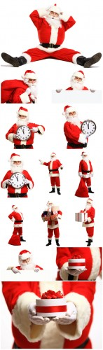 Santa Claus, Christmas, New Year