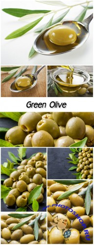 Green Olive fruits